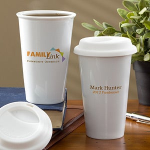 Corporate Logo Reusable Travel Tumbler - 11307