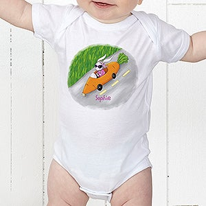 Kids Personalized Easter Bunny Clothes - Retro Rabbit - 11308