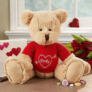 Personalization Mall Personalized Valentine's Day Teddy Bear - My Valentine at Sears.com