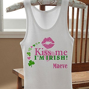 Personalized St Patrick's Day Clothing & Apparel - 11341