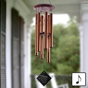 Personalized Wind Chimes - For Mom - 11346
