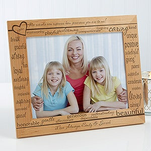 definition of mom personalized picture frame 8 x 10 - Mom Frame