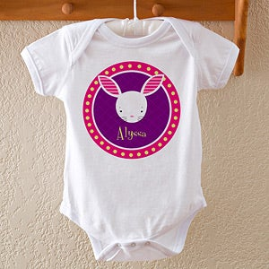 Personalized Kids Clothes - Trendy Bunny - 11371