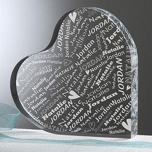 Personalized Heart Keepsake - Couple In Love - 11387