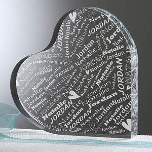 Personalization Mall Personalized Heart Keepsake - Couple In Love at Sears.com