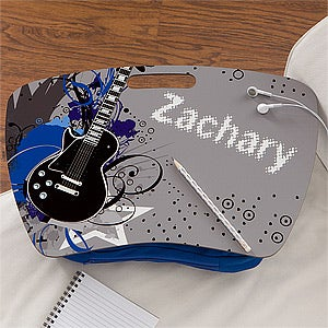 Personalized Lap Desk for Kids - Rockin' Guitar - 11389