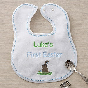 Personalization Mall Boys Personalized Baby Bibs - My First Easter at Sears.com