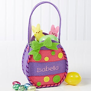 Personalized Easter Baskets - Easter Egg Treat Bags - 11433