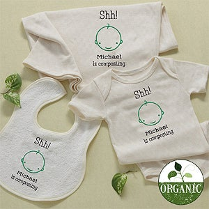 Personalized Organic Baby Clothes & Apparel - 11455