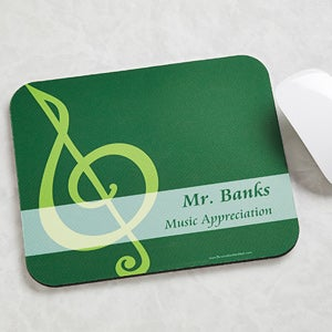 Personalized Teacher Mouse Pads - Teaching Professions - 11466