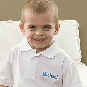 Kids Personalized Polo Shirts - 11467