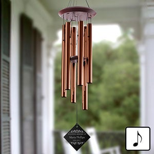 Personalized Memorial Wind Chimes - 11478
