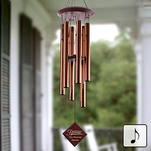 Personalized Wind Chimes - Breezy Summer - 11546