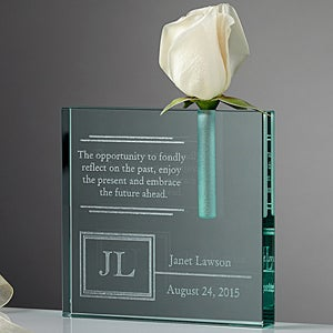 Personalized Retirement Bud Vase - 11555
