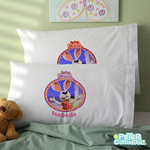Personalized Peter Cottontail Pillowcase - 11562