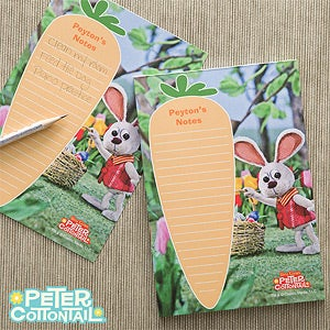 Personalized Peter Cottontail Notepad - 11564