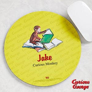 Personalized Curious George Mouse Pads - 11593