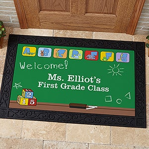 Personalized Teacher's Classroom Doormat - Little Learners - 11608