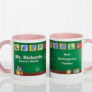 Personalized Teacher Coffee Mug - Little Learners - 11639