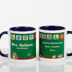 Personalized Teacher Coffee Mug - Little Learners - 11639
