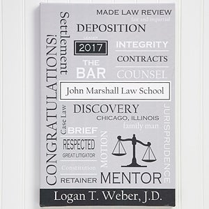 Personalized Lawyer Art - Custom Word Art - 11669