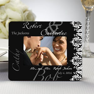 Personalized Wedding Favor Mini Picture Frames - Wedding Couple - 11671