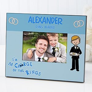 Personalized Wedding Picture Frames - Ring Bearer - 11678