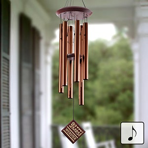 Personalized Wedding Wind Chimes - 11687