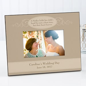 personalized wedding picture frame mother of the bride 11689 - Mother Picture Frame