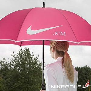 Ladies Personalized Nike Golf Umbrella - Pink - 11711