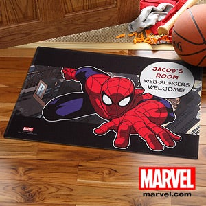 Personalized Spiderman Doormat - 11766