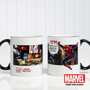 Personalized Spiderman Coffee Mugs - 11767