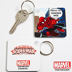 Personalized Spiderman Key Ring - 11777