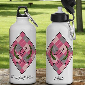 Personalized Ladies Golf Water Bottles - 11781