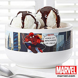 Personalization Mall Personalized Spiderman Bowl at Sears.com