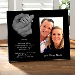 Personalized Picture Frames - Hand and Hand - 11804
