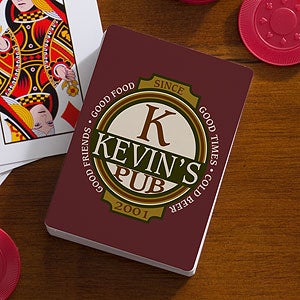Personalized Playing Cards - Classic Tavern - 11810