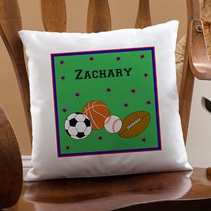 Personalized Throw Pillows for Boys - 11847
