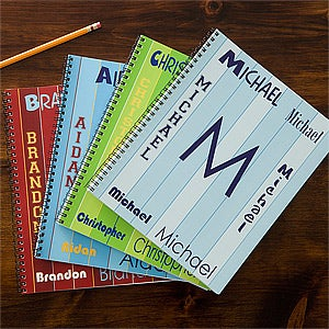 That's My Name Personalized Large Notebooks For Boys-Set of 2