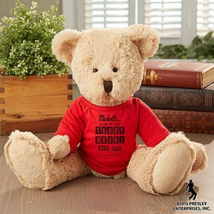 Personalized Elvis Teddy Bears - Let Me Be Your Teddy Bear - 11939