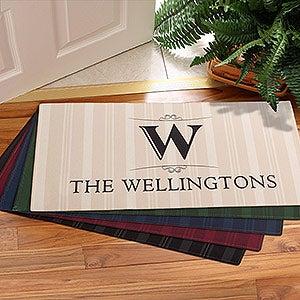 Personalized Doormats - Family Monogram - 11954