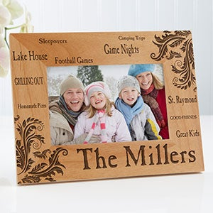 Personalized Family Picture Frames - Family Pride - 11961
