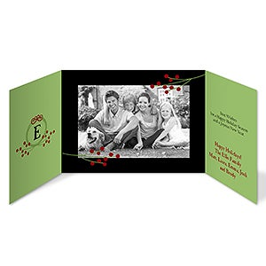Personalized Christmas Cards - Our Family Photo - 11970