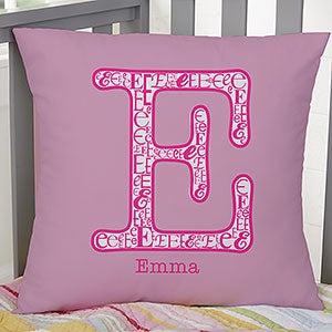 Personalized Kids Pillows - Name & Monogram - 11978