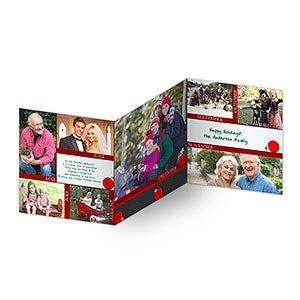 Personalized Photo Christmas Cards - Through The Year - 11982