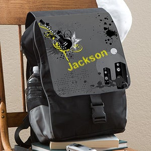 Kids Personalized Backpacks - Guitar - 12014