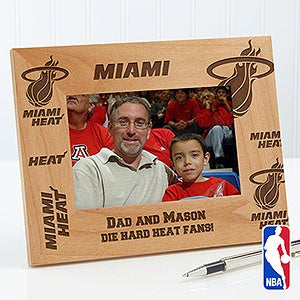Personalized Basketball Picture Frames - NBA Teams - 12044