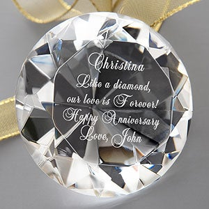 Personalized 'Diamond' Keepsake