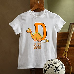 Personalization Mall Custom Kids T-Shirts - Alphabet Animals Design at Sears.com