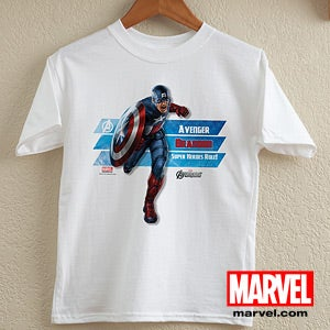 Personalized Avengers Shirts - Iron Man, Hulk, Thor, Captain America - 12090